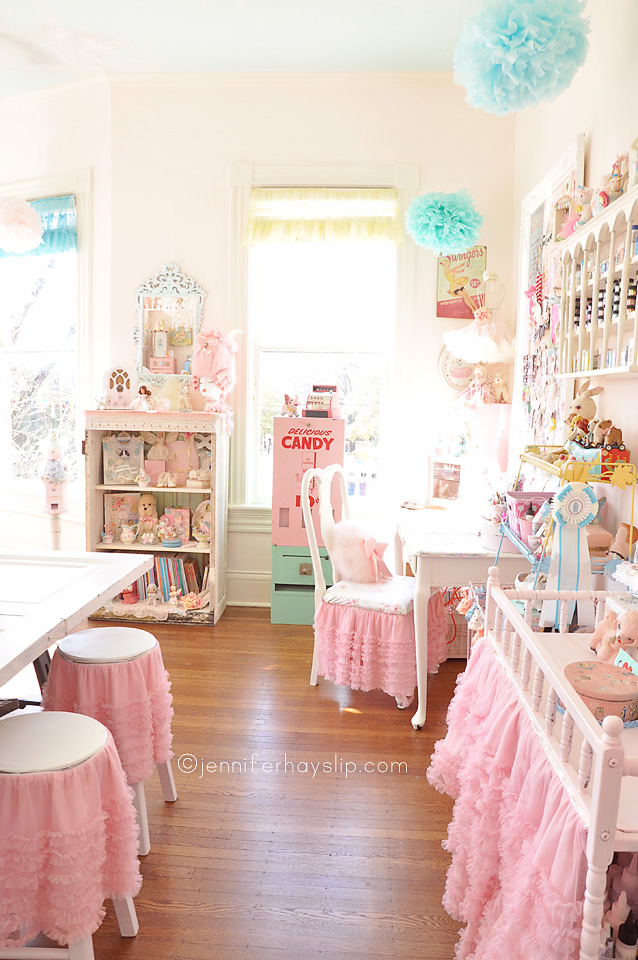 my eye candy pastel art heaven studio my blog On shabby chic craft room