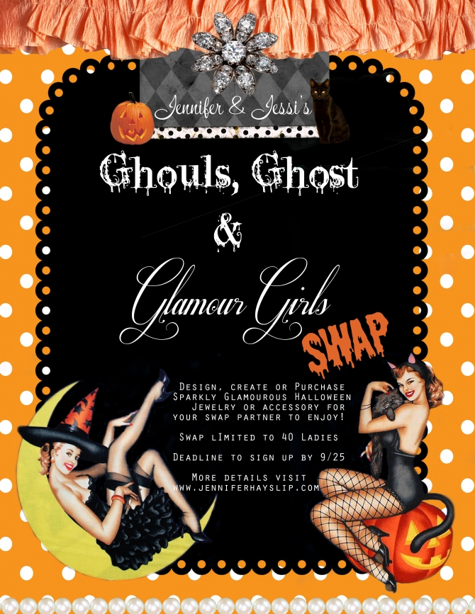 halloweenswap Ghouls, Ghost and Glamour Girls Swap